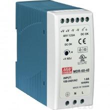 Блок питания Mean Well MDR-60-48